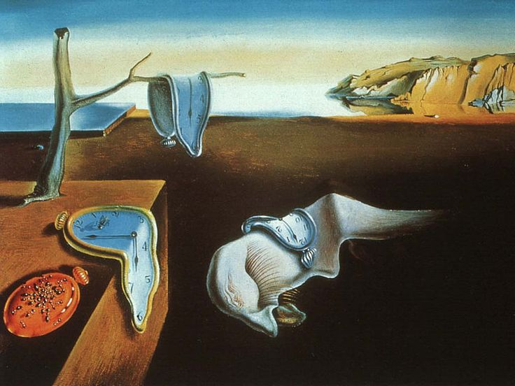 The Persistence of Memory is a 1931 painting by artist Salvador Dalí, and is one of his most recognizable works. First shown at the Julien Levy Gallery in 1932, the painting has been in the collection of the Museum of Modern Art (MoMA) in New York City since 1934. It is widely recognized and frequently referenced in popular culture.