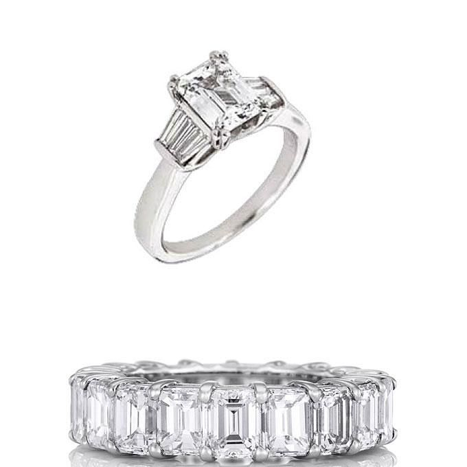 11 best images about emerald cut engagement rings ritani