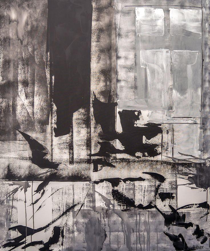 """Maleri """"Efterår"""" af Hanne langebæk - Billede nr 347"""