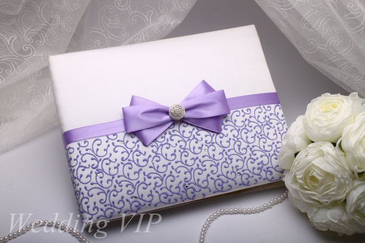 Wedding Memory Book lilac A5 -HAND-Painted- Guestbook lilac Wedding book Personalized set Trend wedding Summer wedding Unusual wedding idea by VIZZARA on Etsy