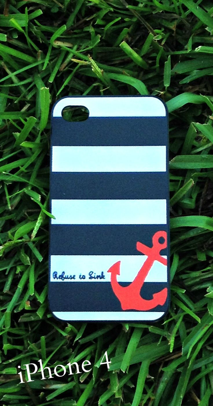 PHONE CASES | Anchor iPhone Case - 4/4s and 5/5s