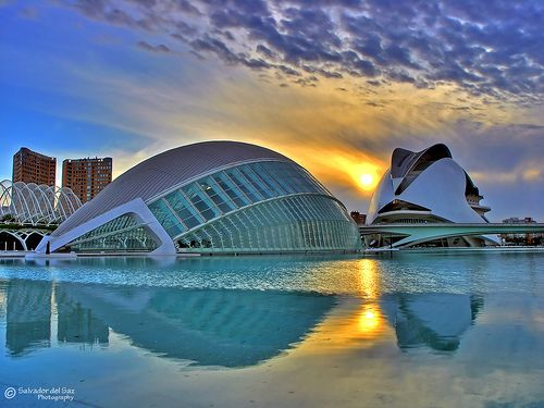 Valencia, Spain...an amazing blend of very old and very modern and the longest beach, ever!