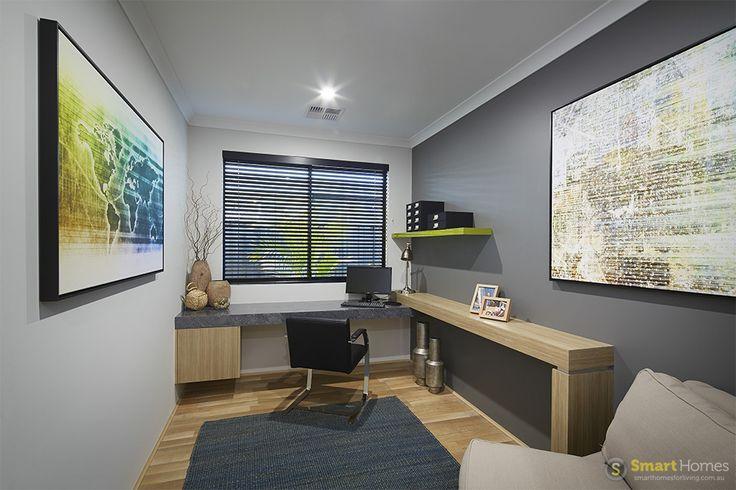 Home office  #interiordesign by #SmartHomesForLiving
