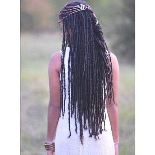 Shared By Herlucidsky Find Images And Videos About Long Hair Dreads And Dreadlocks On We Heart It Th Hair Styles Short Black Hairstyles Natural Hair Styles