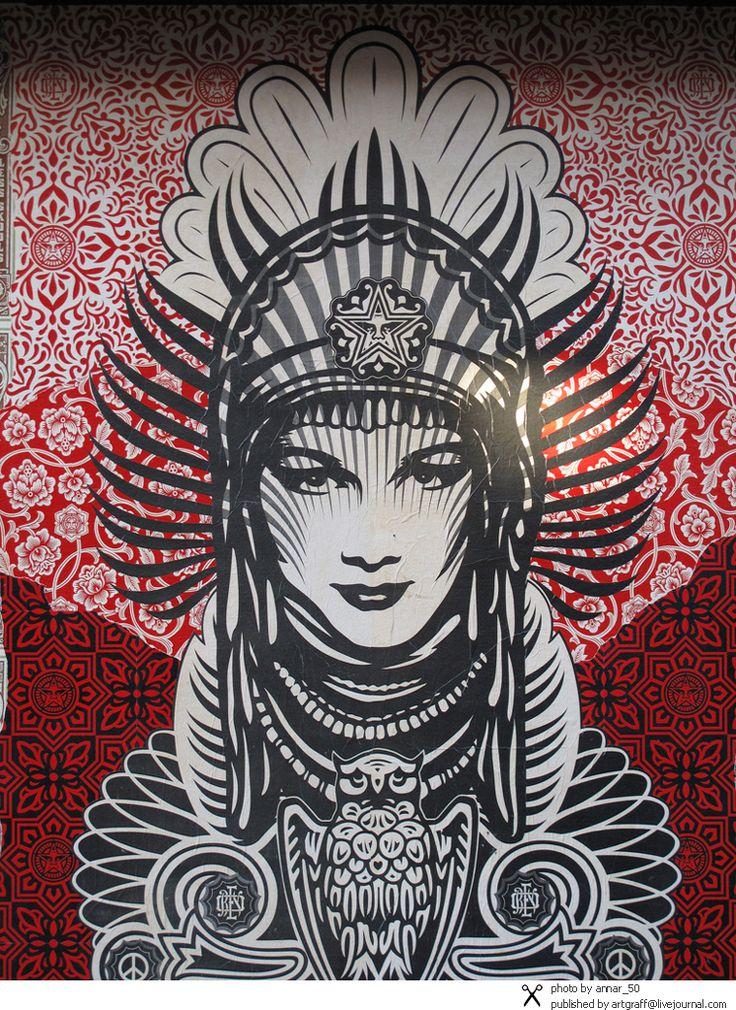 Street Art around the World - shepard fairey