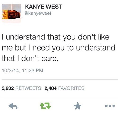 Idgaf Quotes Wallpaper Image De Kanye West Quote And Twitter Wall Quote Insta