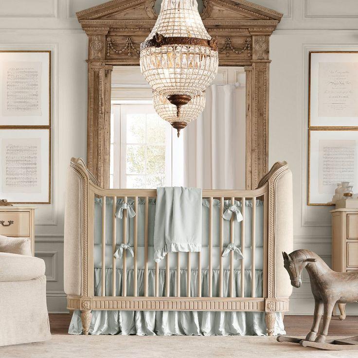 Elegant Baby Nursery | RH Baby & Child Nurseries 10 most unbelievable baby abodes ♥