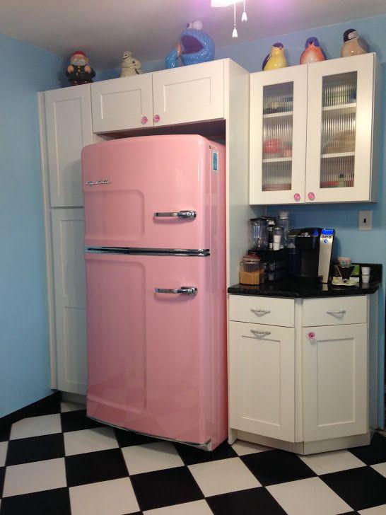 25+ best ideas about Amerikanischer kühlschrank on Pinterest ... | {Kühlschrank retro mint 61}