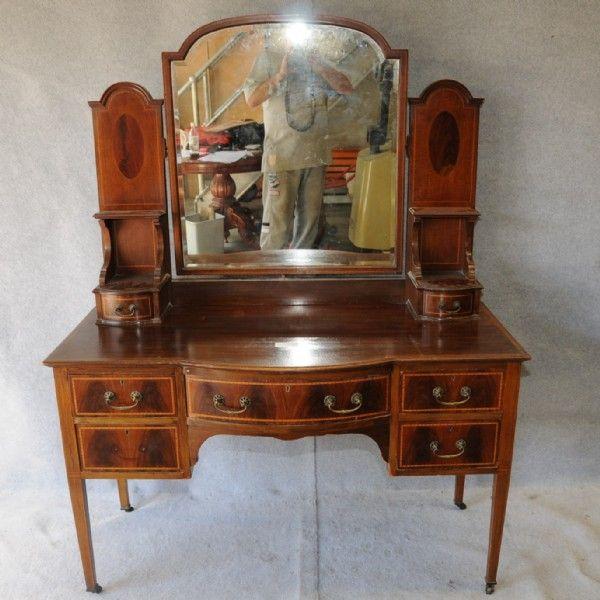 Victorian Dressing Table | Edwardian mahogany dressing table. Table DressingAntique  TablesVintage ... - 61 Best Victorian Dressing Tables Images On Pinterest Dressing