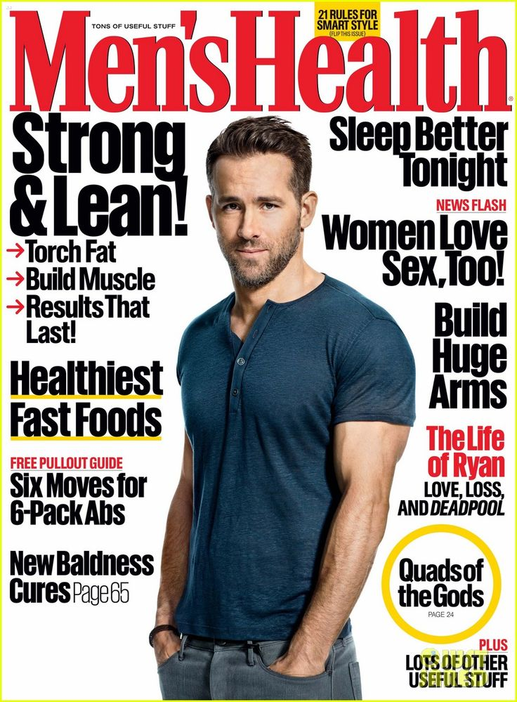 Ryan Reynolds Reflects on His Father's Death, Talks Baby James in 'Men's Health'