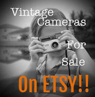 Vintage Cameras for sale on Etsy! -