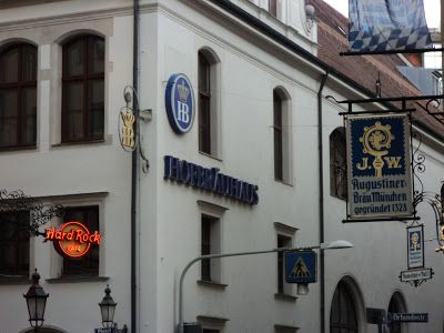 Hofbrauhaus, World's Largest Beer Hall, Munich, Germany. Missing this so much right now... I just want to be at Oktoberfest!!!