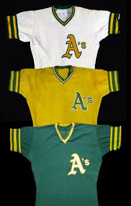 size 40 c7aa2 eba2c 1972, 1973, 1974 Oakland A's Jerseys #baseballuniforms ...