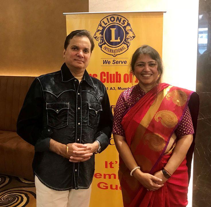 Lalit pandit and audiologistspeech therapist devangi