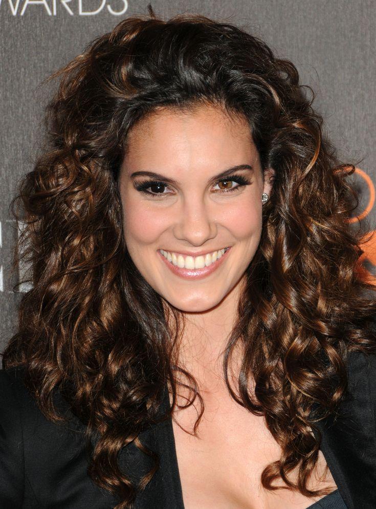 Daniela Ruah, she has one brown eye, and one black eye!