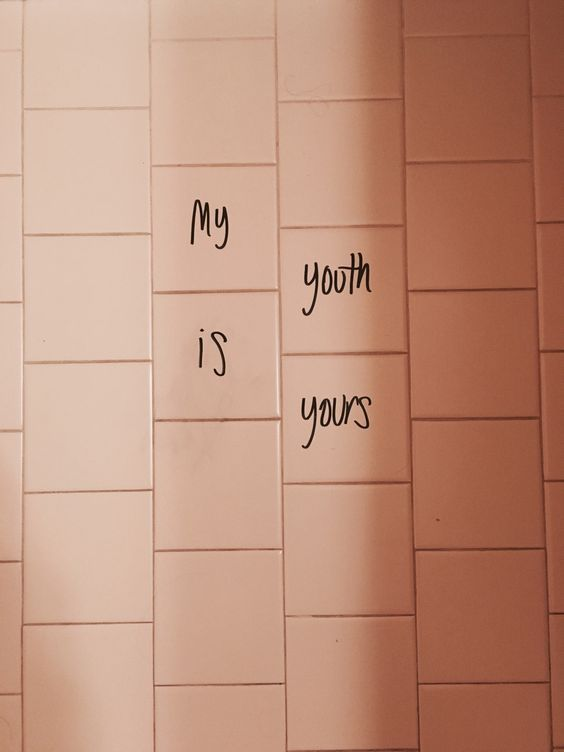 Troye Sivan ++ youth + peach + graffiti