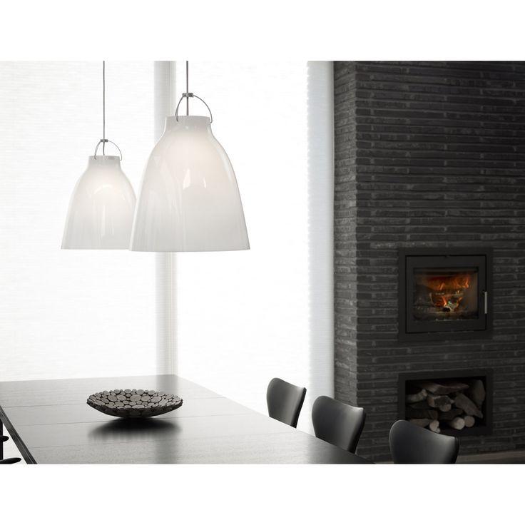 Caravaggio Opal pendant lamp | Skandium
