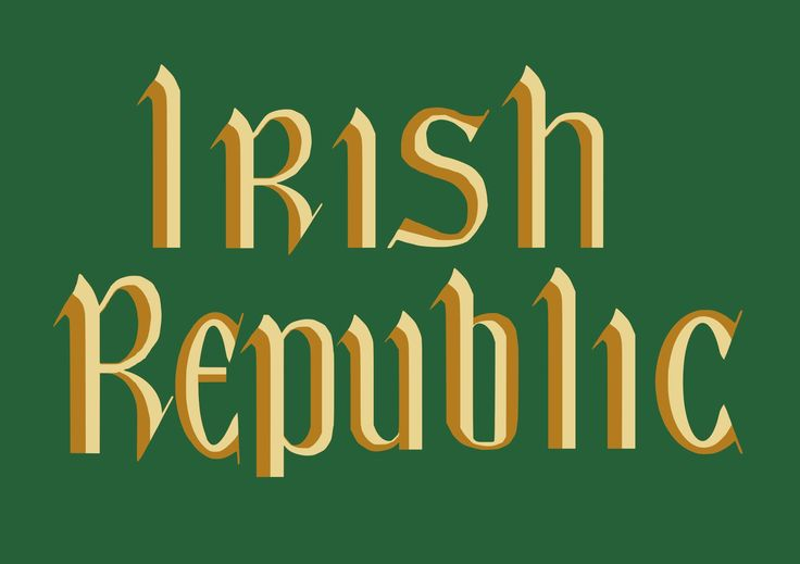 The National Anthem, Flag And Proclamation Of The Republic Of Ireland