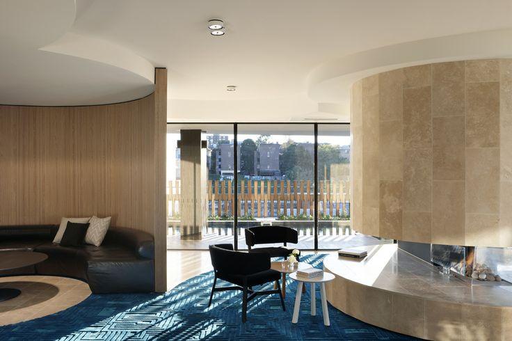The Claremont - wintergarden  Bird de la Coeur Architects Interiors Hassell Photo Dianna Snape