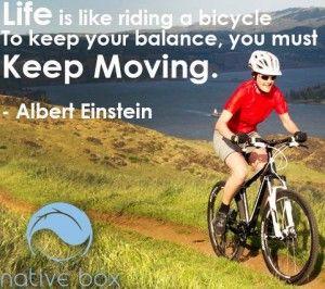 Keep Moving to keep your balance