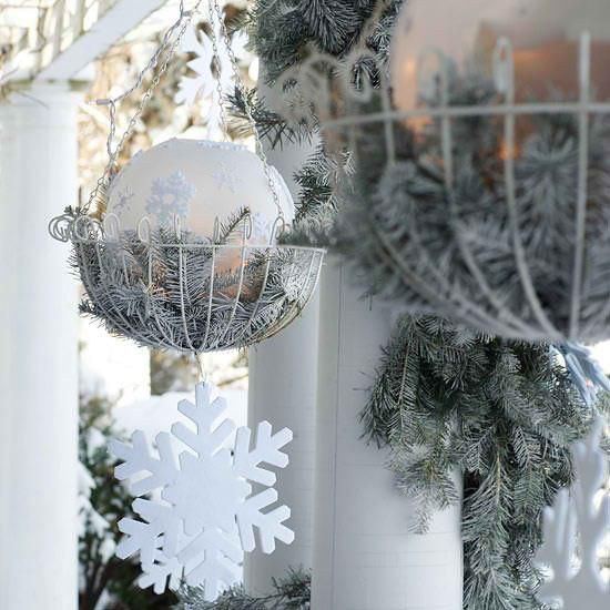 Decorating Front Yard Landscaping Ideas Images Best Outdoor Christmas  Decorating Ideas Decorating White Christmas Trees 550x550