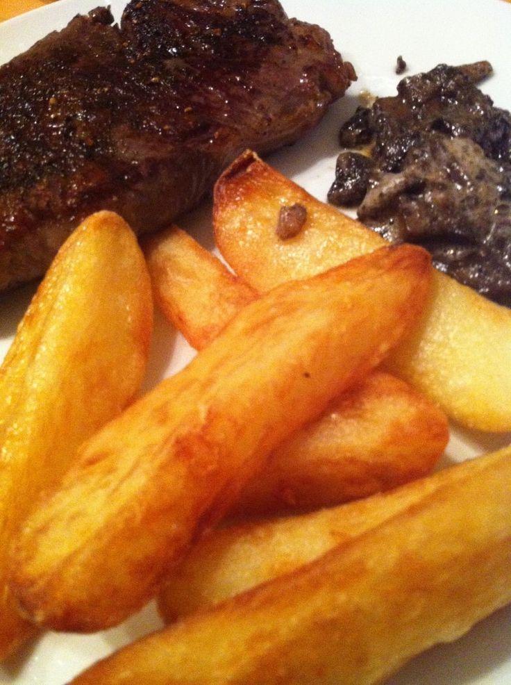 Heston Blumenthals thrice cooked chips