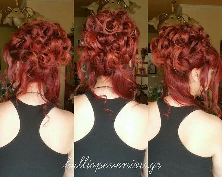 Extremely gorgeous hairstyle! ! #hairstyle #redhair #waves #trusttheexperts #kalliopeveniou #viphall #vipservices