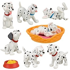 For use as cake toppers??  Dalmatian party
