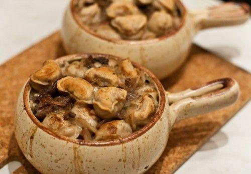 Пельмени в горшочках: 4 рецепта / Простые рецепты