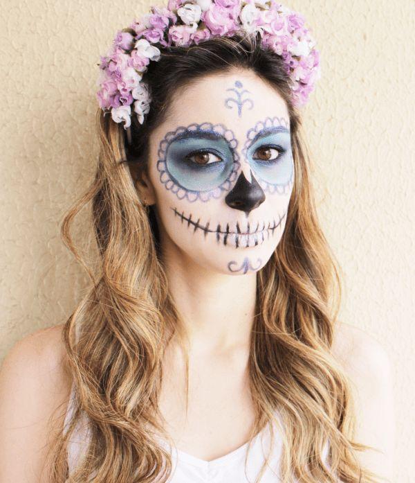 Pin by Katiana Vecio on Caveira | Pinterest | Halloween, Halloween Makeup and Costume Makeup