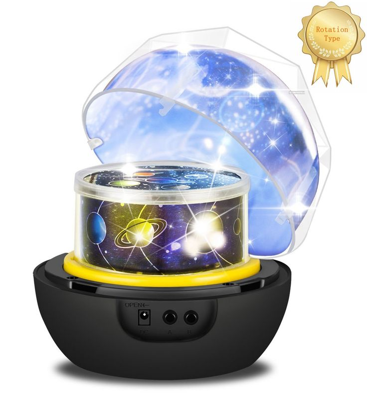 Night Light Projector LED Lamp 6 Films 3 Colors Dimmable Lamp Beads with 360 Degree Rotating, Amazing Children Gift for Thanksgiving Day Halloween Xmas Holiday (Universe)
