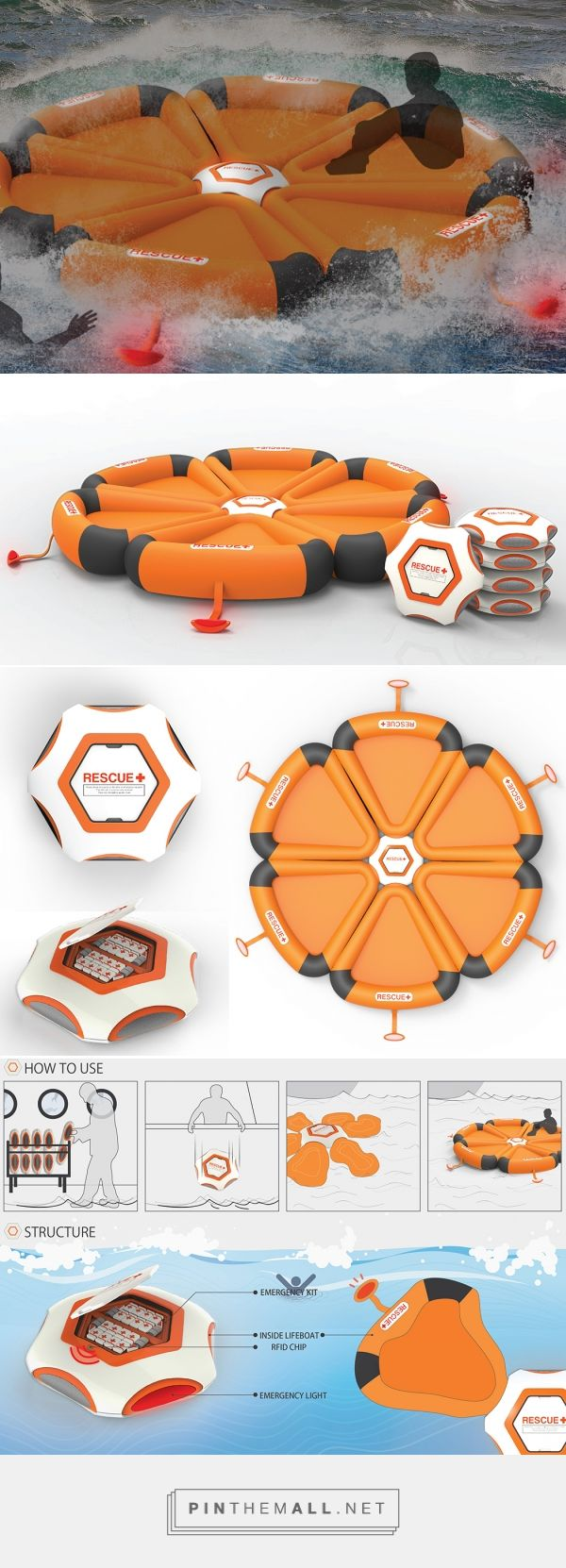 Sea Safety for Dummies | Yanko Design - created via http://pinthemall.net
