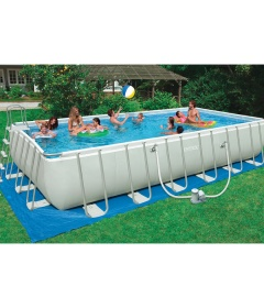 Intex Ultra Frame Pool 18 x 52   - Read our detailed Product Review by clicking the Link below