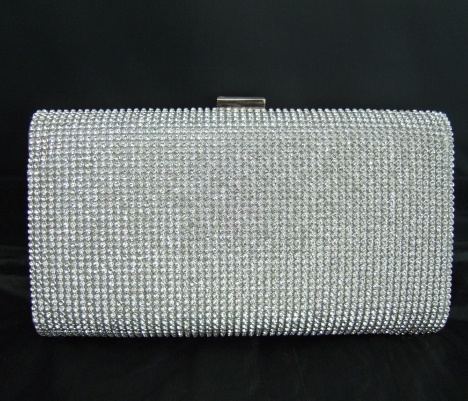 Show stopping large crystal hard case clutch | Forever Fabulous handbags and jewellery boutique