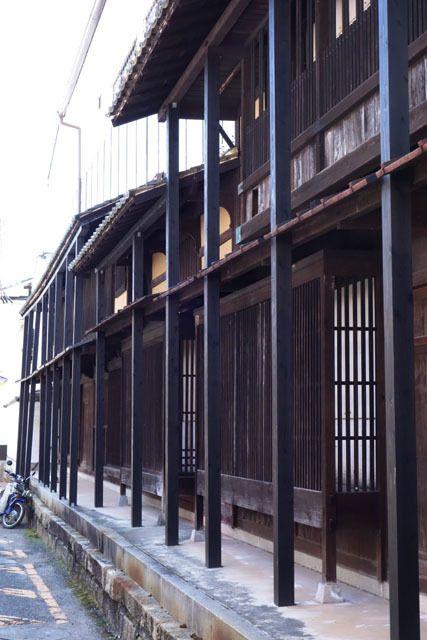 町家の格子 , Miyajima , Hiroshima
