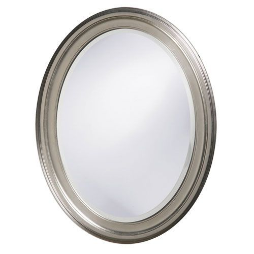 George Nickel Oval Mirror Howard Elliott Collection Oval Mirrors Home Decor