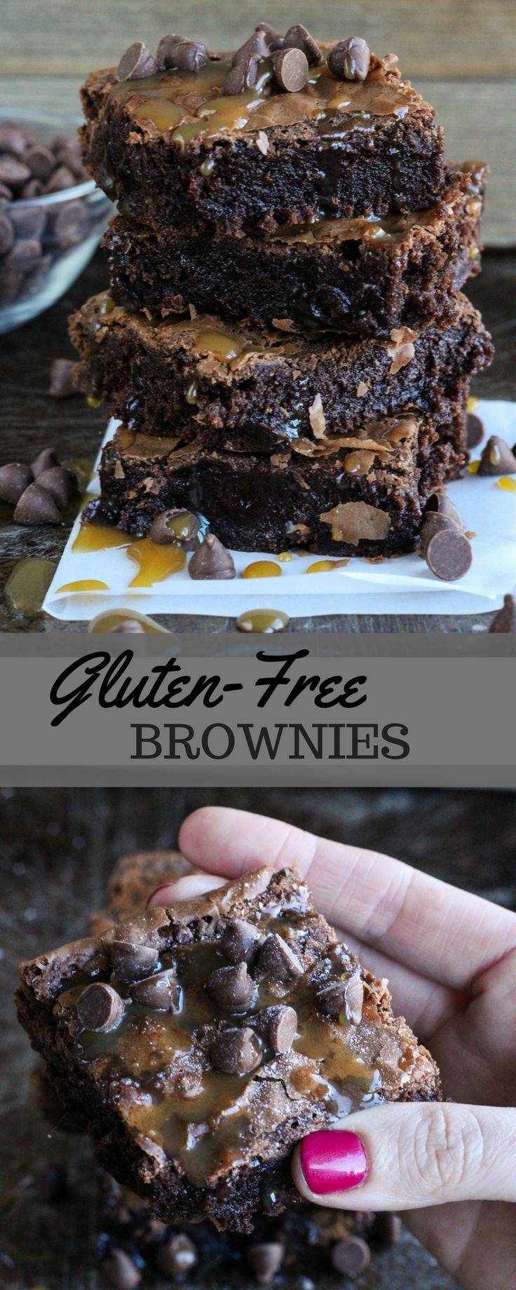 The whole family will love these rich, chocolaty brownies, made with .@BobsRedMill Gluten Free 1-to-1 Baking Flour. AD BobsSpringBaking