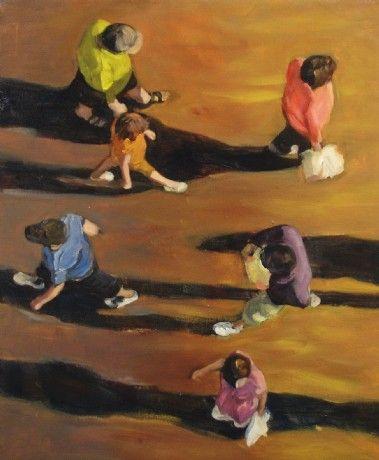 Inge Dompas | olieverfschilderijen en tekeningen | hedendaagse figuratieve kunst | atelier in Winksele bij Leuven, België