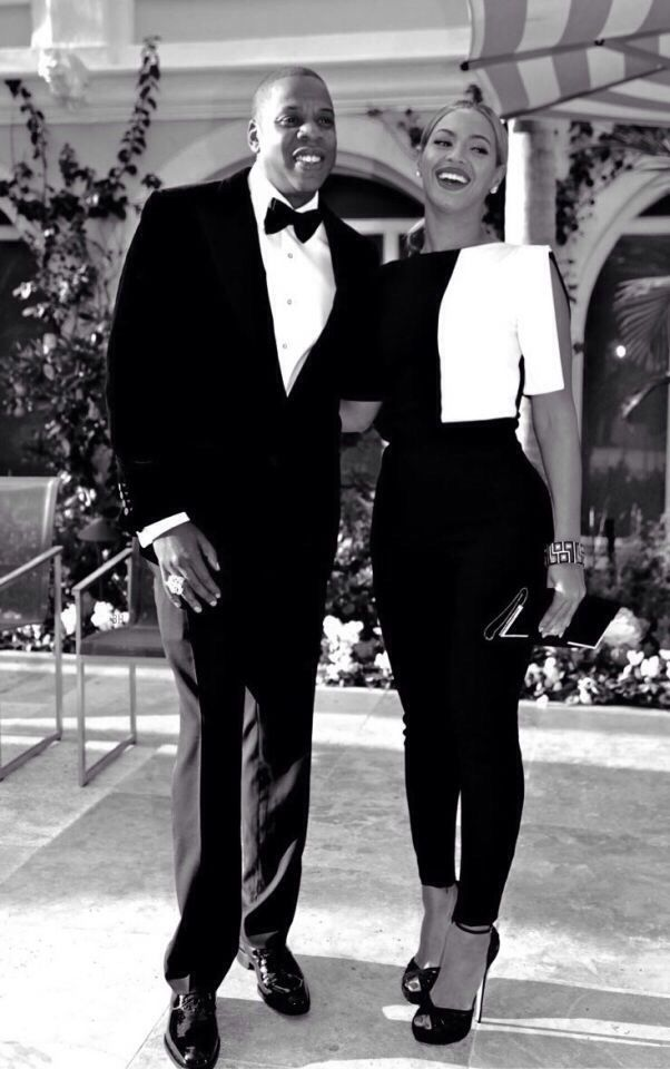 Powerful Glamorous Black Couple: They Are So Lovely. Power Couple Indeed. Rocking The Black