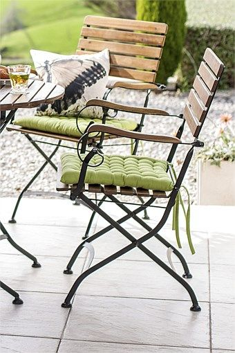 2 for $120 - OMG A bit more expensive than our 'Paris' $25 friends but aren't these gorgeous - and they fold! Would look delicious with the folding table from T'Me  Furniture Collection - Bianca two chair set
