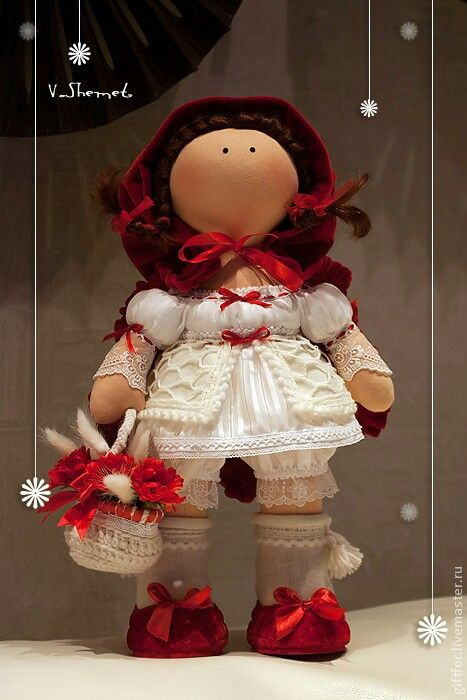 Caperucita (Handmade Doll)