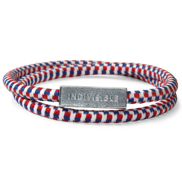 "Create Jobs for USA Wristband  Americans helping Americans create jobs. For a donation of $5, you will receive an American-made ""Indivisible"" wristband. 100% of your donation goes to the Opportunity Finance Network® to create and sustain jobs in communities across America."