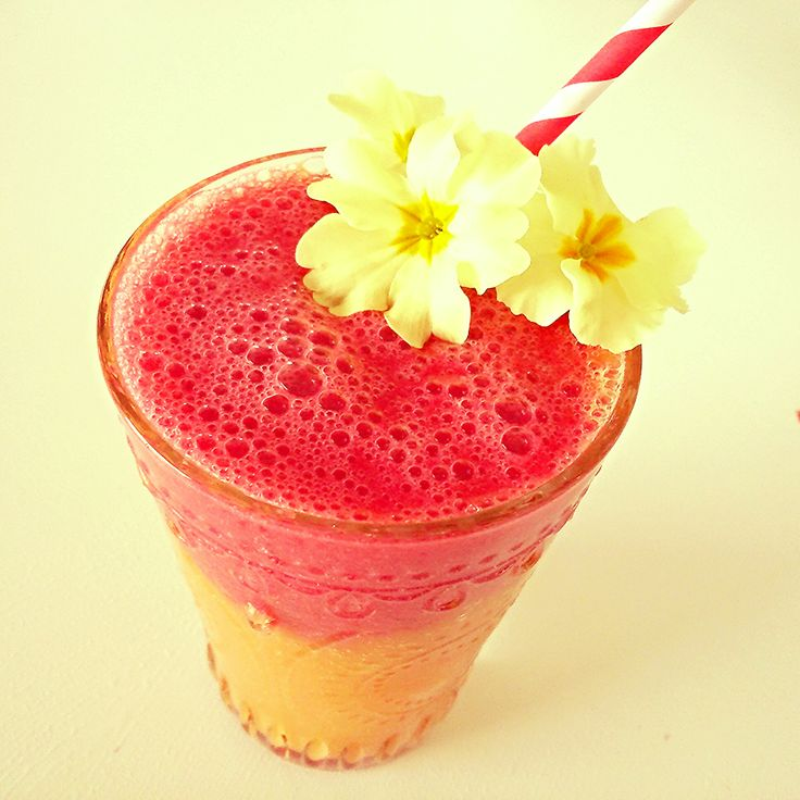 Mango & Raspberry smoothie by Star 'The Facelift Diet ...