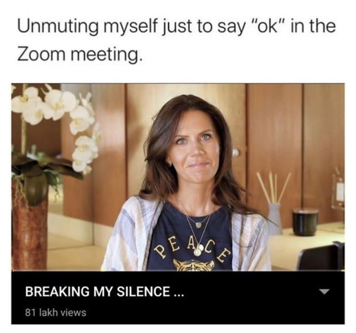 Zoom Meeting Pretty Meme Me Too Meme Memes