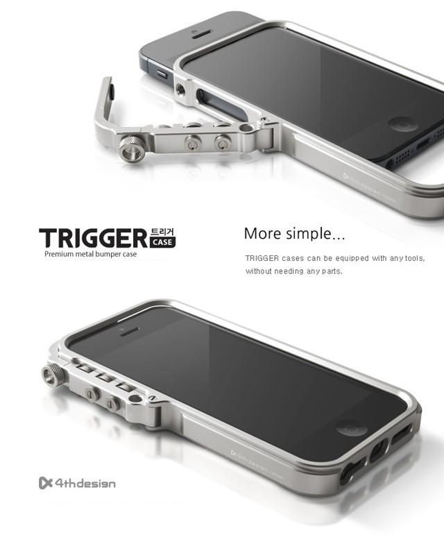 Features: Aviation Aluminum Bumper frame for iphone 7, 7 Plus (signal strength is not reduced) Oversize frame window Laser engraving LOGO for iphone 7, 7 Plus Unique combination of whole body connection structure Stainless steel screw fasteners CNC machining aluminum power button Modular frame may correspond to future upgrades Packing list: M2 4th design Trigger bumper case for iphone 7, 7 Plus A beautiful lanyard