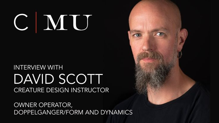 CMU Creature Design instructor, David Scott, shares his expertise in designing, sculpting, moulding and painting creatures with students in the Creature & Character Design program as well as insight into the Practical Effects industry