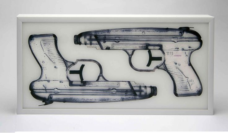 Bang Bang £450.00  By Dominic Vonbern Limited edition 23pcs Deep Aluminum Frame, 61x30CM, 3MM acrylic UV PRINT, Spray, acrylic and pencil on canvas.  http://www.deepwestgallery.co.uk/product-page/9ab5ffc8-0fbd-66d9-61b4-401e086089d9