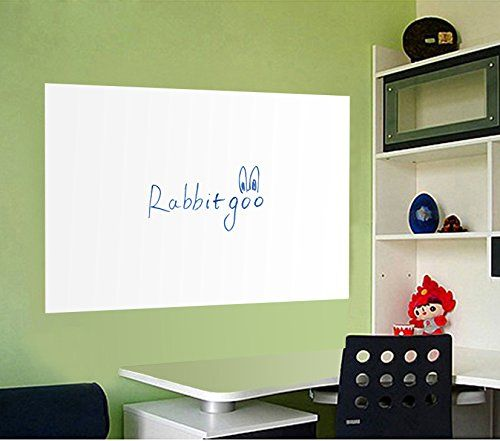 Rabbitgoo® Self-Adhesive Wall Sticker Wall Paper Whiteboa...