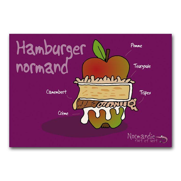 Hamburger normand #Normandie #Heula