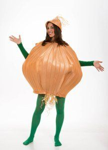 Vegetable (Onion) Adult Halloween Costume Size Standard: Amazon.com: Clothing